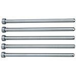 前端加工直中心銷 -SKH51/軸徑(P)0.01mm指定/軸徑公差0_-0.005-/-0.01_-0.02-