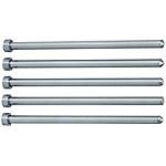 前端加工直中心銷 -SKD61+氮化/軸徑(P)0.1mm指定/軸徑公差-0.01_-0.02-/-0.01_-0.03-