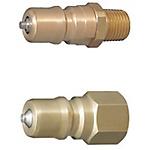 雙閥自封閥冷卻水用接頭 -內接頭/耐熱120℃/外螺紋/內螺紋-