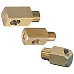 冷卻水用L型螺紋轉換接頭 -內-外螺紋轉換/45°內-外螺紋轉換-
