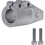 導向軸支座 法蘭型 開口型(精密鑄造件) 長導向型