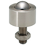 鋼珠滾輪  螺帽固定型·法蘭安裝型