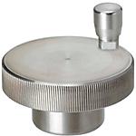 鋁合金壓紋手輪/不銹鋼壓紋手輪