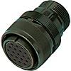 MIL規格連接器?MMS系列 直通型插頭