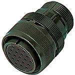 MIL規格連接器?MMS系列 中繼型插座