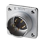 金屬螺紋連接器?MNS系列 面板安裝型插座