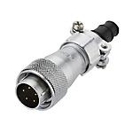 金屬螺紋防水連接器?MWS系列 直通型插頭