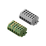 歐式塊狀端子臺 BTDK系列(面板安裝型?彈盒夾線?組合型)