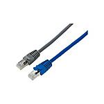 固定長網線 CAT6A STP(帶屏蔽·多股導體)