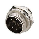 金屬螺紋連接器?PLT系列 面板安裝型插座
