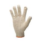 棉滌勞防手套 【7針 580g以上 點塑/非點塑可選 12副/袋】