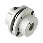 聯軸器 單節膜片式夾緊螺絲固定型 帶鍵槽 DADKC(對應LK3-CK)