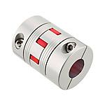 聯軸器 撓性型爪型夾緊螺絲固定 SQR-C