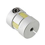聯軸器 經濟型 梅花形夾緊螺絲固定型 JABC 緩沖部材料為盲孔 (對應LK16-C)