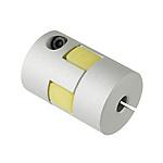 聯軸器 梅花形夾緊螺絲固定型 JAAC 緩沖部材料為盲孔 (對應LK8-C)