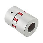聯軸器 經濟型 梅花形定位螺絲固定型 JAD 緩沖部材料為盲孔 (對應LK17)