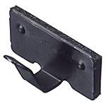 高級粘性電線夾 黑色電鍍