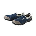 松緊系列安全鞋 防砸防靜電耐磨耐油藍色款增加防穿刺功能