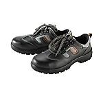 8111黑牛皮透氣網布安全鞋