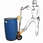 DE型油桶搬運小車
